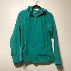 Columbia hooded zip jacket
